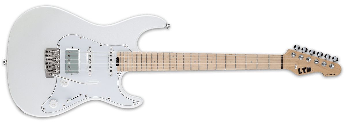Duncan Electric Guitar (Pearl White)