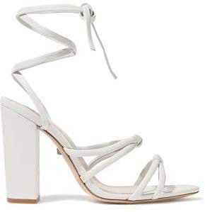 Lohanna Knotted Leather Sandals