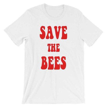Unisex Retro Save The Bees Tee