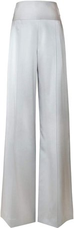 Alejandra Alonso Rojas Wide-Leg Silk Pants