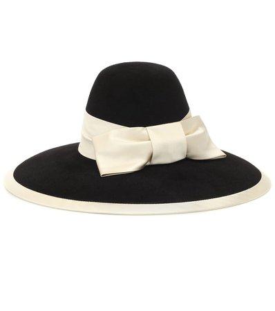 Bow-Embellished Felt Hat | Gucci - Mytheresa