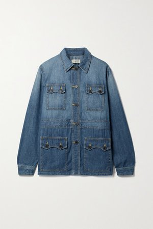 Blake Denim Jacket - Blue