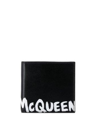 Alexander Mcqueen Logo Print Wallet Ss20