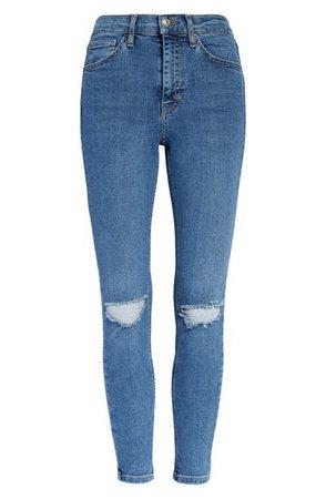 Topshop Jamie Ripped Ankle Skinny Jeans (Regular, Petite & Long) | Nordstrom