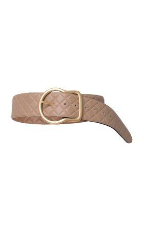 Soft Sensation Quilted Leather Belt by Dorothee Schumacher   Moda Operandi