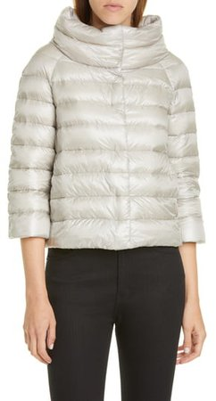 Sofia Down Crop Puffer Jacket