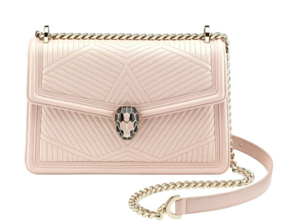 bvlgari serpenti pink diamond blast bag