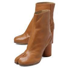 maison margiela tabi boots brown - Google Search