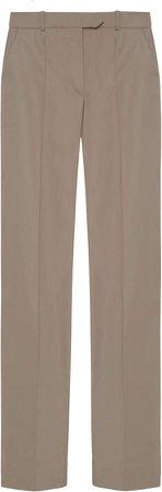 Aleksandre Akhalkatsishvili Low-Rise Cotton Pants