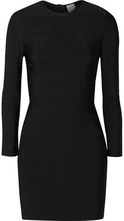Bandage Mini Dress - Black