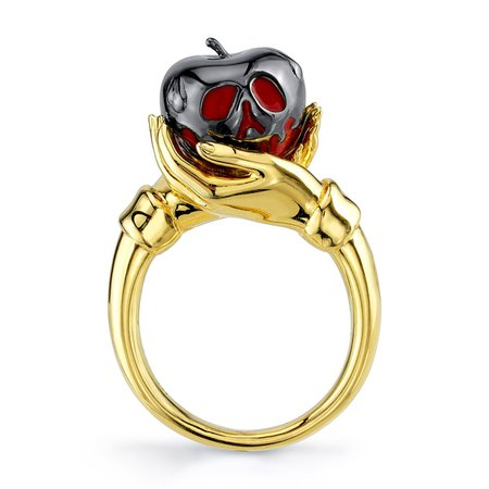Disney X RockLove Snow White and the Seven Dwarfs Poison Apple Ring – RockLove Jewelry