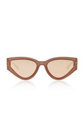Cat Style Dior Crystal-Embellished Acetate Sunglasses by Dior | Moda Operandi