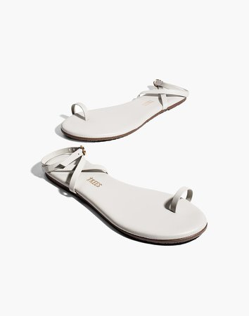TKEES Phoebe Leather Sandals