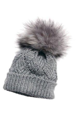 Free People Pinnacle Pompom Wool Blend Beanie | Nordstrom