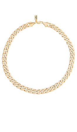 petit moments Amber Chain Necklace in Gold | REVOLVE