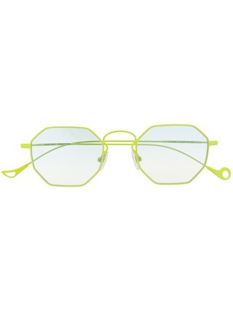 Eyepetizer CLAIRE Hexagonal-Frame Glasses CLAIRE Green | Farfetch