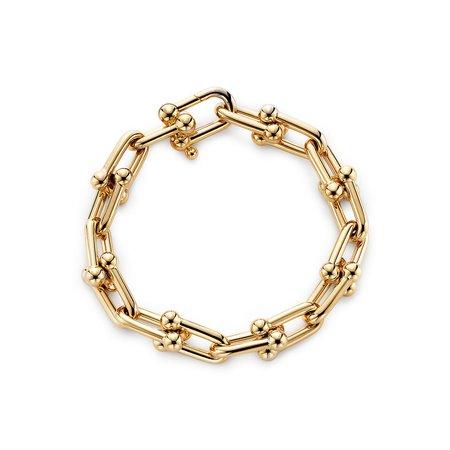 Tiffany HardWear link bracelet in 18k gold, medium. | Tiffany & Co.