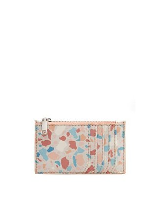 MANGO Printed card holder
