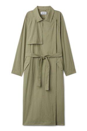 Tone Trench Coat - Taupe - Jackets & coats - Weekday