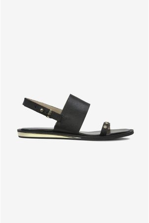 Indah Studded Leather Sandals