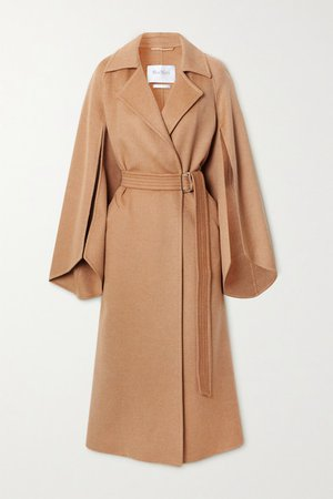 Milano Belted Camel Hair Coat