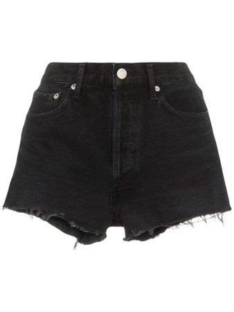 AGOLDE distressed denim shorts £140 - Shop Online - Fast Delivery, Free Returns