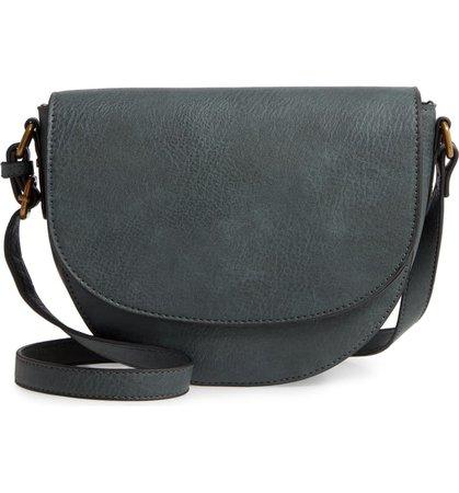 BP. Faux Leather Saddle Bag