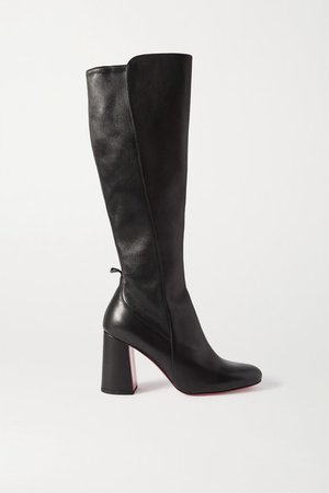 Kronobotte 85 Leather Knee Boots - Black