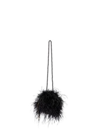 Vanina L'oiseau Rebelle Feather Shoulder Bag - Farfetch