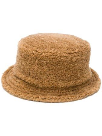 Marni Faux Fur Bucket Hat - Farfetch