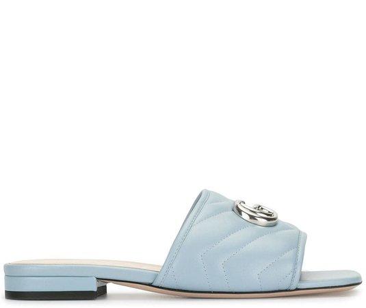 GG logo-plaque sandals