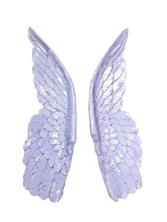 NEARANDDEAR Large Lavender Angel Wings Angel Wing Wall Decor | Etsy