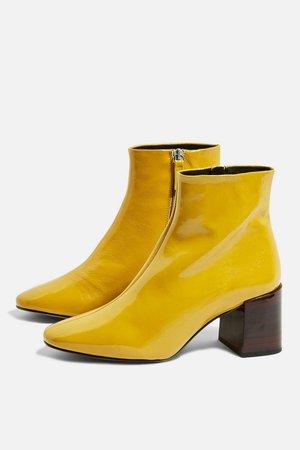 MARLENE Mid Heel Boots - Shoes- Topshop USA