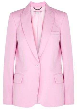 Stella McCartney Pink wool blazer - Harvey Nichols