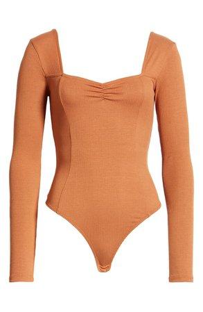 BP. Sweetheart Neck Bodysuit