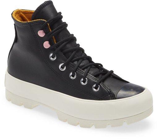 Chuck Taylor(R) All Star(R) Gore-Tex(R) Waterproof Lugged High Top Sneaker