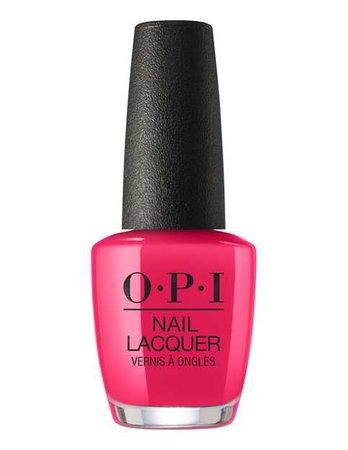 Pink Nail Polish (OPI)