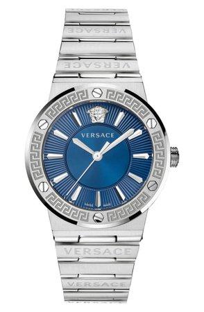 Versace Greca Logo Bracelet Watch, 38mm | Nordstrom