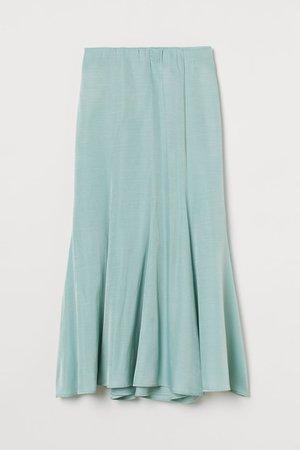 Long Skirt - Mint - Ladies | H&M US