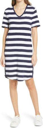 Caslon® Slub Knit Dress (Regular & Petite) | Nordstrom