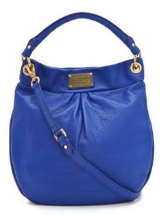 (8) Pinterest - Hobo Bags - Have to Love this Bright Blue #handbags #bags | Best Leather Handbags