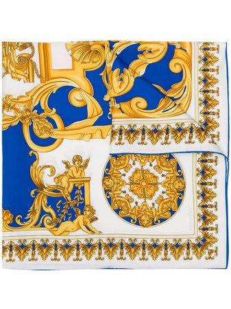 Versace Barocco-print Silk Scarf - Farfetch