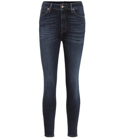 Aubrey High-Rise Skinny Jeans - 7 For All Mankind | Mytheresa