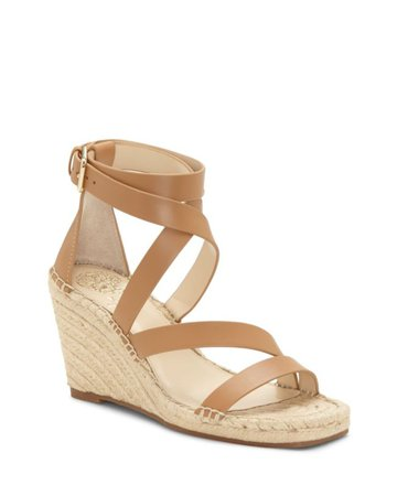 Vince Camuto Mesteria Wedge Espadrille Sandal | Designer Shoes, Handbags, Clothing & Perfume - Vince Camuto