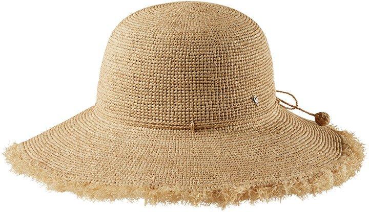 Fringed Wide Brim Hat