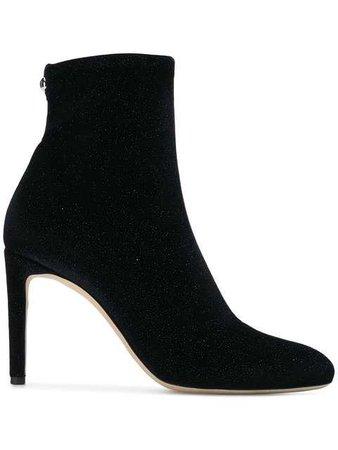 Giuseppe Zanotti Design Glitter Sock Ankle Boots - Farfetch