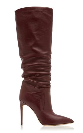 Slouchy Leather Knee Boots By Paris Texas | Moda Operandi