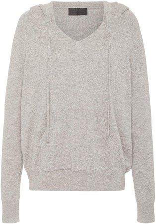 Albany Oversized Cashmere Hooded Sweatshirt