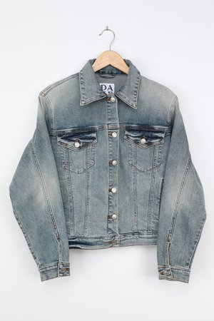 Daze Denim Ex Boyfriend - Light Wash Jacket - Denim Jacket - Lulus