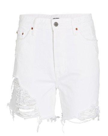 GRLFRND Jourdan Denim Shorts   INTERMIX®